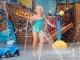 Bernaqua Mädchen springt