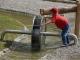 Energiespielplatz mit Wasserrad Foto: UNESCO Biosphäre Entlebuch