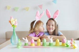 Bastelideen für Ostern für die ganze Familie