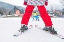 So lernen Kinder Skifahren