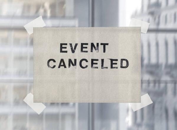 Eventkalender geschlossen