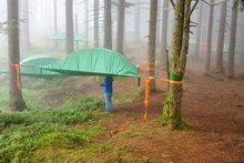 Family-Challenge accepted! MOMS:TOTS:ZURICH übernachtet im Baumzelt