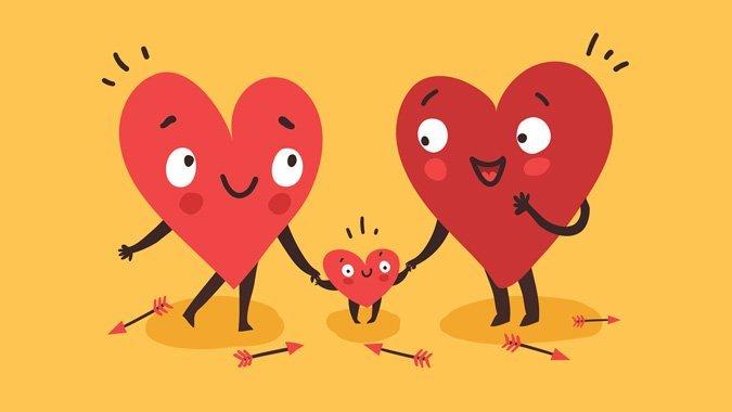 Valentinstag: So finden Eltern am Tag der Liebe etwas Zeit für Romantik
