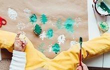 6 bezaubernde Weihnachtsgeschenke, die Sie mit Kindern basteln können