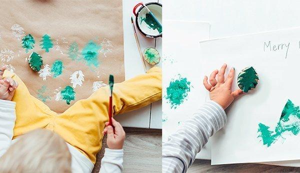 Weihnachtsgeschenke Mit Kindern Basteln Einfache