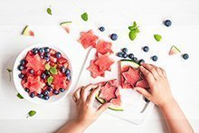 Znüni-Ideen für Früchte- und Gemüseverächter