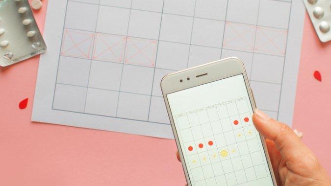Zyklus App: Mit Vorsicht zu geniessen